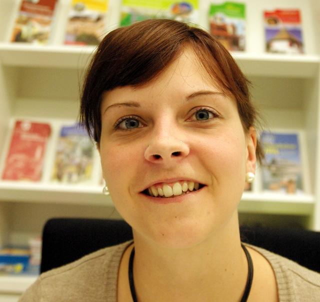 Kathrin Meidl von der Tourist-Information Gunzenhausen