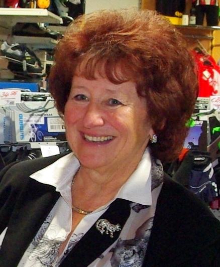 Erika Gruber, die bisherige Vizepräsidentin.