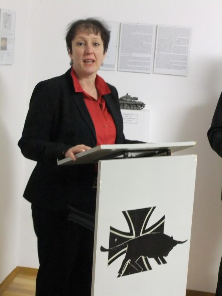 Bürgermeisterin und Vereinswirtin: Susanne Feller-Köhnlein.