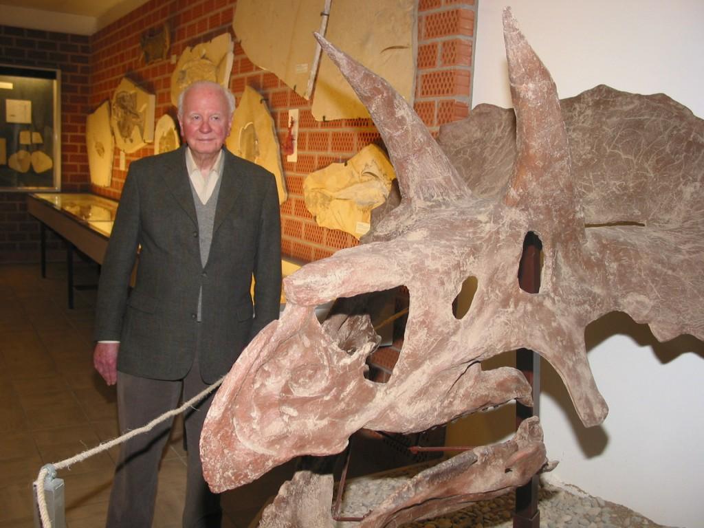 Dr. Kress, der Begründer des Steindruck- und Fossilienmuseums in Gunzenhausen. Die Einrichtung soll auf den Prüfstand gestellt werden.