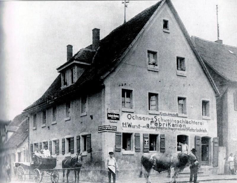 224    Stieg Gerberstr. 1 um 1922    54) S. 53-001