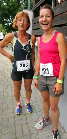 Inge Postler (2:11:34) und Daniela Rubensdörfer (1:48:18) belegten die Ränge 284 und 117 von 343 Teilnehmern.
