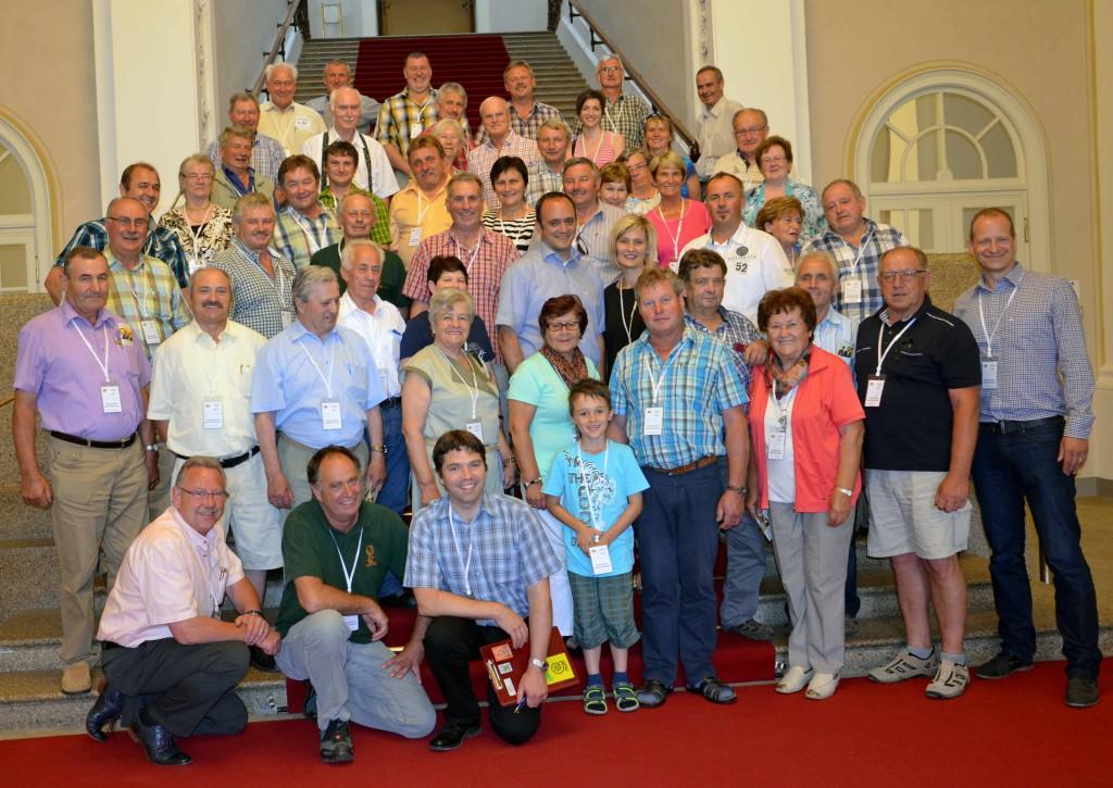 Die Gruppe aus dem Stimmkreis mit MdL Westphal im Maximilianeum.