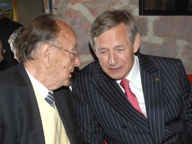 Botschafter a.D. Frank Elbe war ein enger Vertrauter von Hans-Dietrich Genscher.