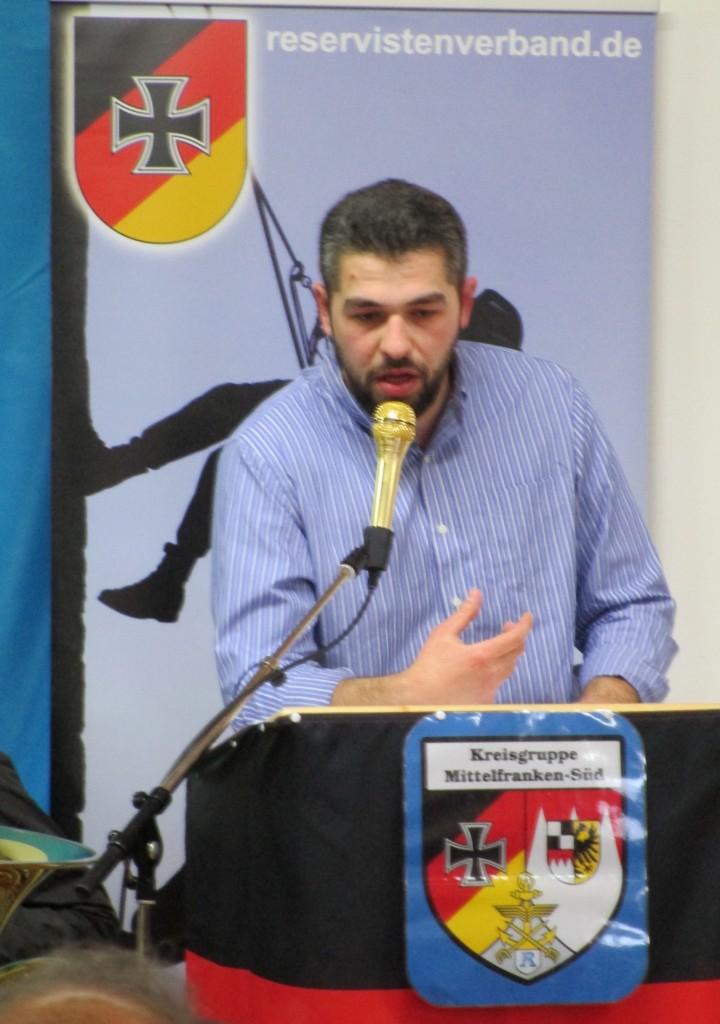 Der serbischstämmige Irfan Peci sprach über die islamistische Propaganda.