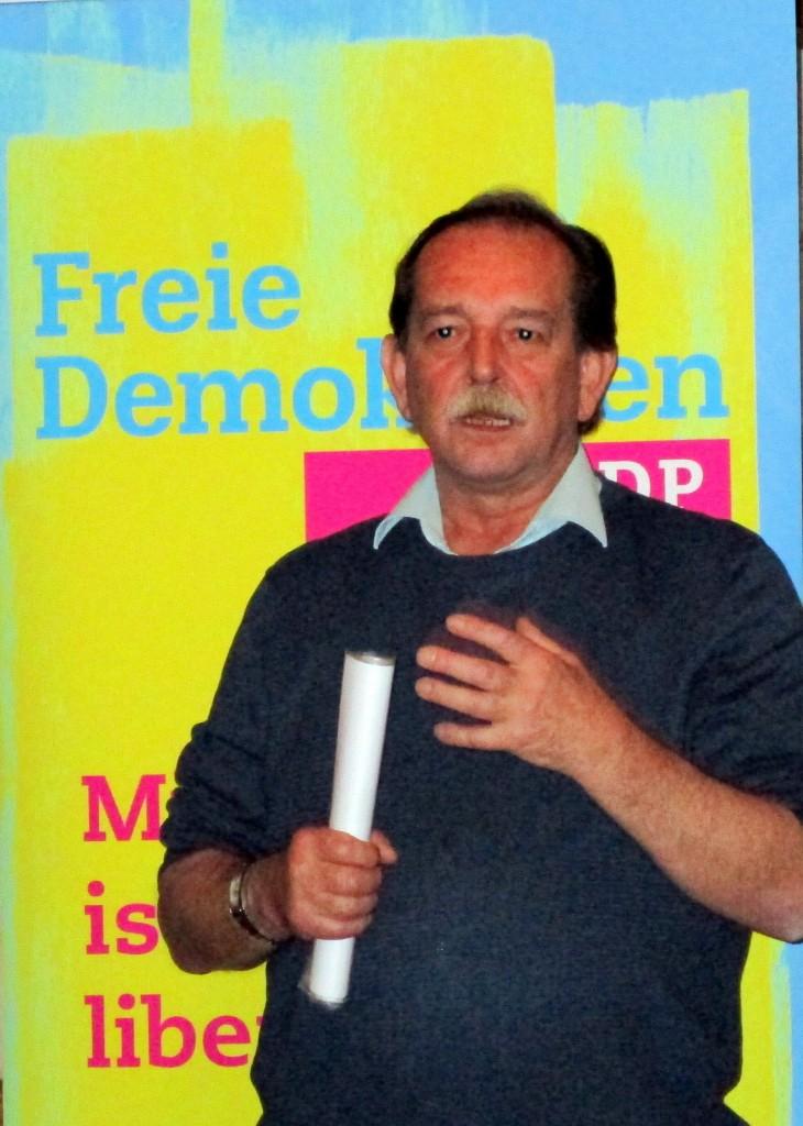 Sachlich wie immer: Rainer Erdel, der frühere Bundestagsabgeordnete.